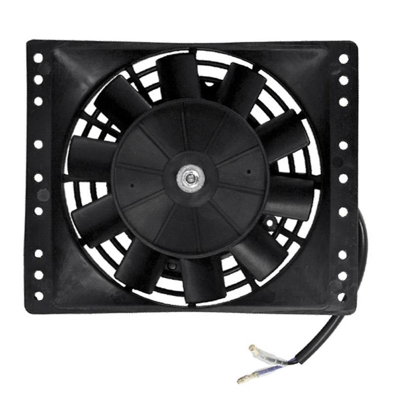 "6"" Inch 90w Motor Electric Engine Transmission Oil Cooler Fan 12 Volt Small ATV Motorcycle-Single Electric Fans-American Volt-American Volt"