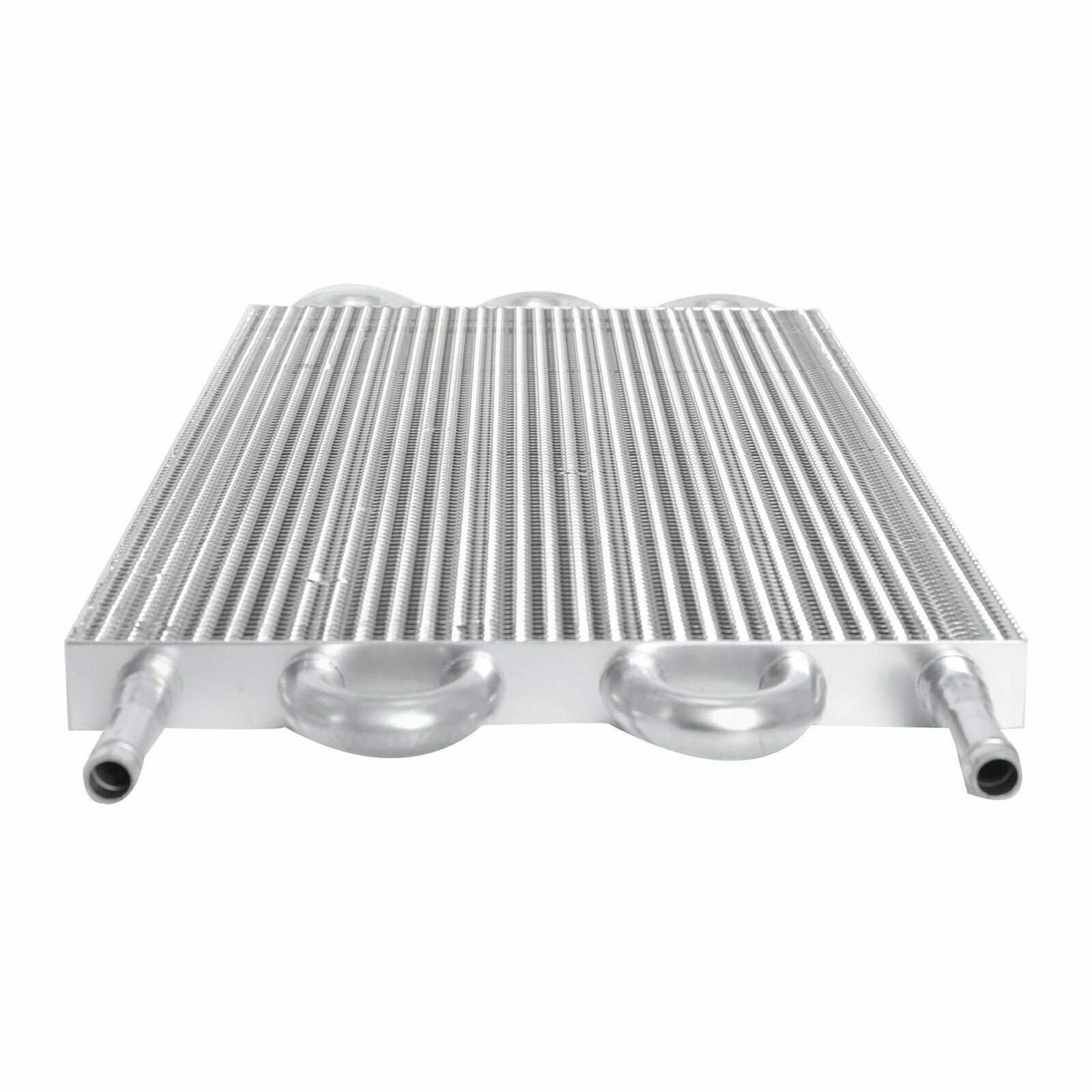 "6 Row Wide Tube Fin Aluminum Light Duty Engine Transmission Oil Cooler 6"" Inch Electric Fan Kit-Oil Cooler-American Volt-American Volt"