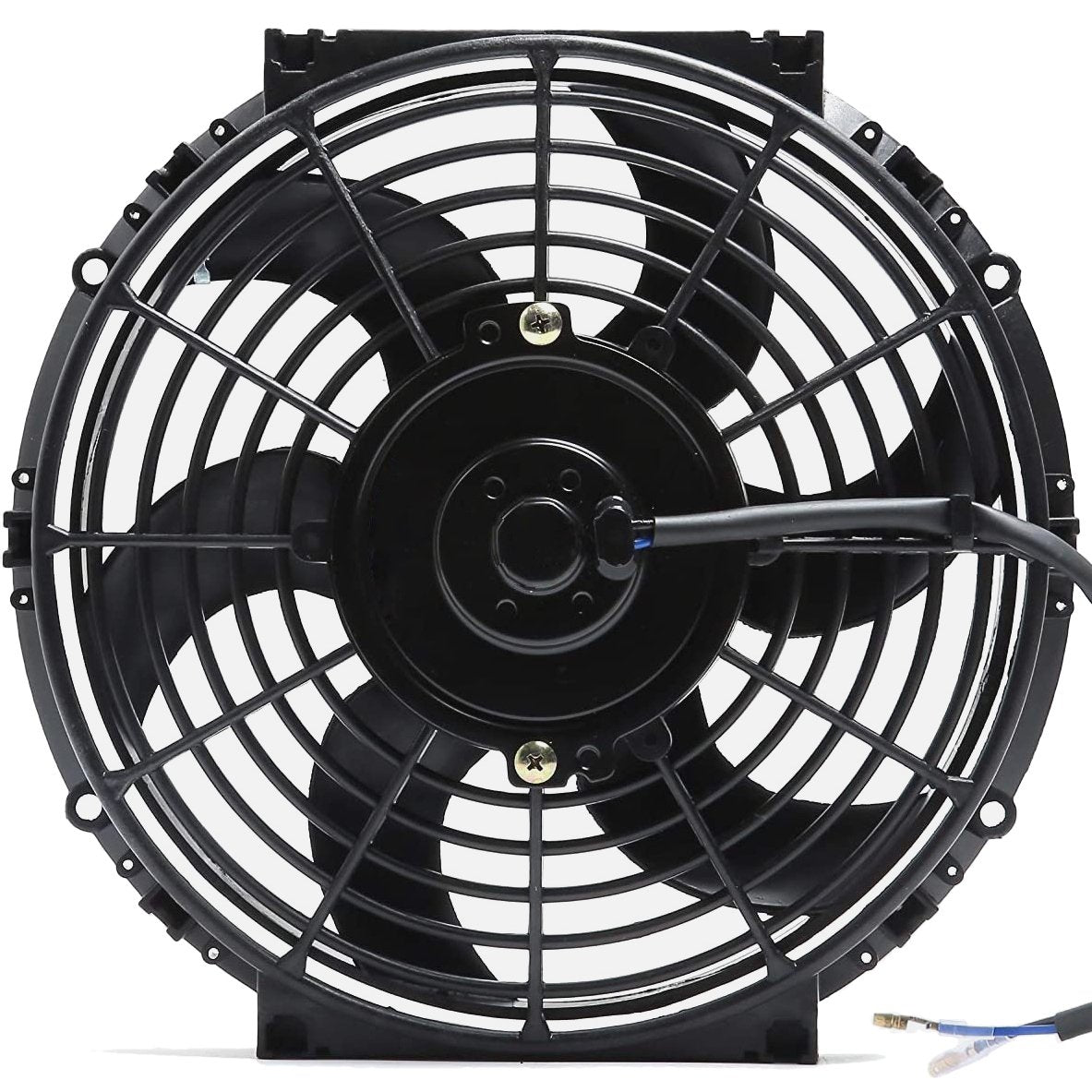"Dual 10"" Inch Electric Fans 12 Volt Engine Radiator Cooling Upgraded 90 Watt Motor High CFM-Dual Electric Fans-American Volt-American Volt"