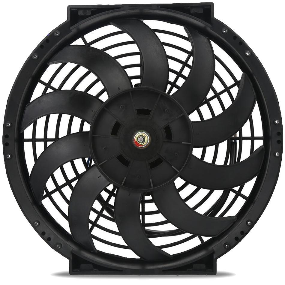 "Dual 12"" Inch Electric Fans 12 Volt Engine Radiator Cooling Upgraded 120W Motor High Performance CFM-Dual Electric Fans-American Volt-American Volt"