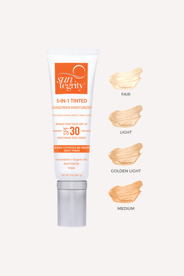 SUNTEGRITY 5-IN-1 TINTED FACE SPF 30
