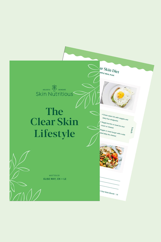 CLEAR SKIN LIFESTYLE BOOKLET