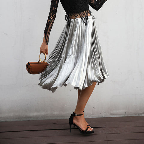 Casual smooth women skirt