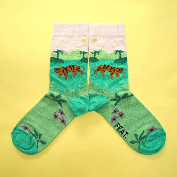 Forest Tiger Sock
