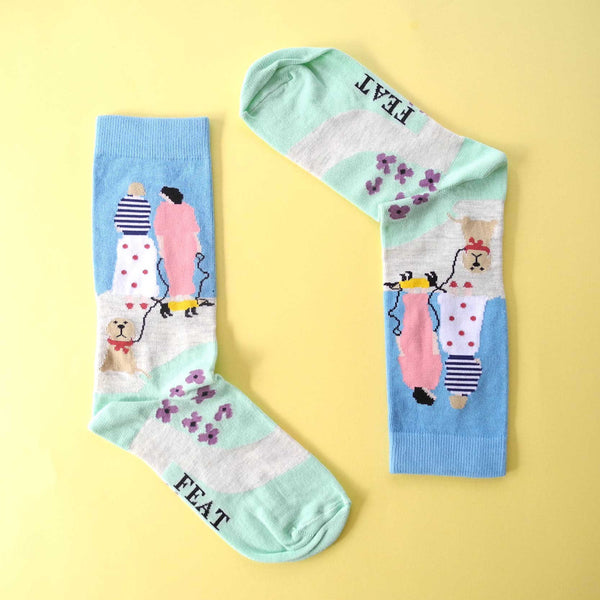 Ladies' Dog Walking Sock