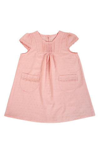 Cotton Sun Dress - Pink