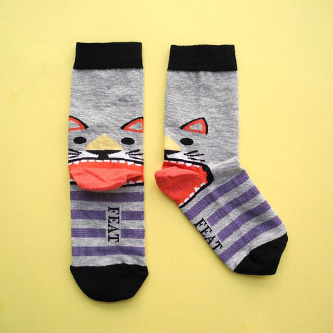 Kids' Cat Lovers Sock