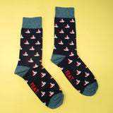 Men's Sailboat Sock
