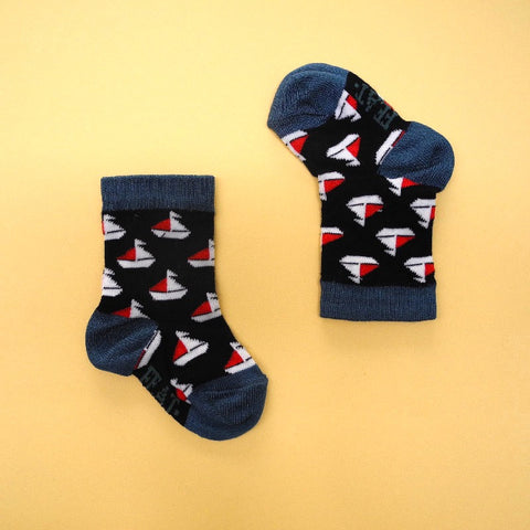 Baby Socks Sailboats size 0-12 months