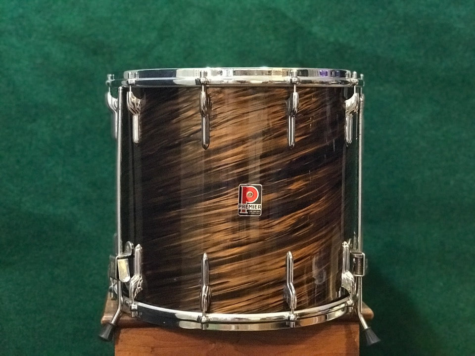 Premier Mahogany Duroplastic 54 Outfit 14 Floor Tom Royal Ace