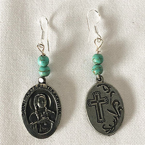 SAINT KATERI TEKAKWITHA EARRINGS