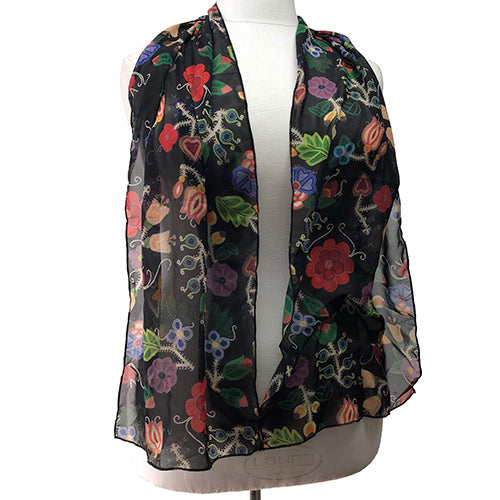 NEW 2020 MATRIARCH POLY CHIFFON LONG SCARF