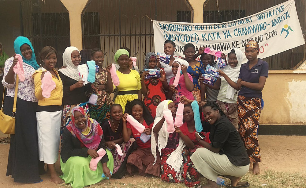 Youth Leadership Brings Menstrual Equity to Tanzania