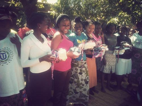 Transformation Textiles + Pads4Girls = Malawi Success!