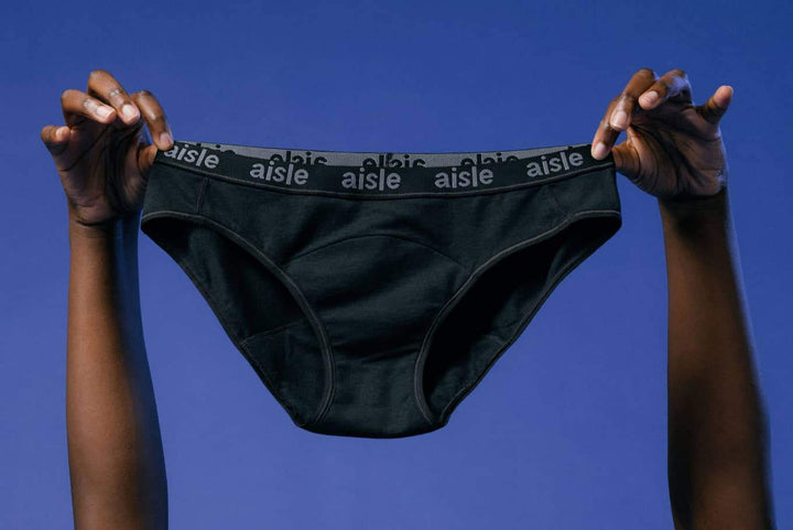 Period underwear from Aisle, which was formerly Lunapads.