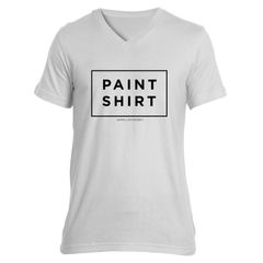 Paint Shirt V-Neck