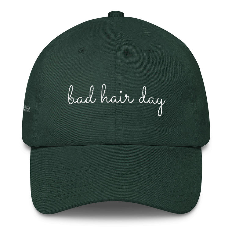 Bad Hair Day Cotton Cap
