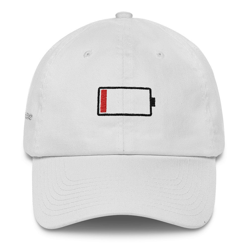 Low Battery Cotton Cap