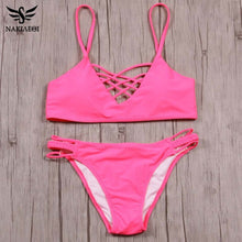 Micro Crochet Bikini Swimwear Women Swimsuit Bandage Crop Top Brazilian Bikini Set Bathing Suit Swim Wear
