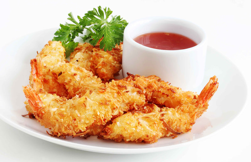 Baked Spicy Coconut Shrimp