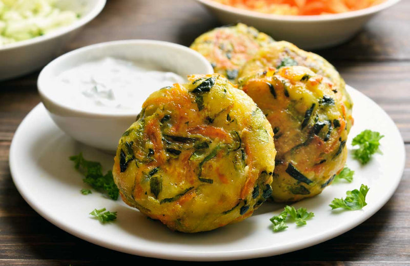 Incredible Veggie Fritters or Cutlets