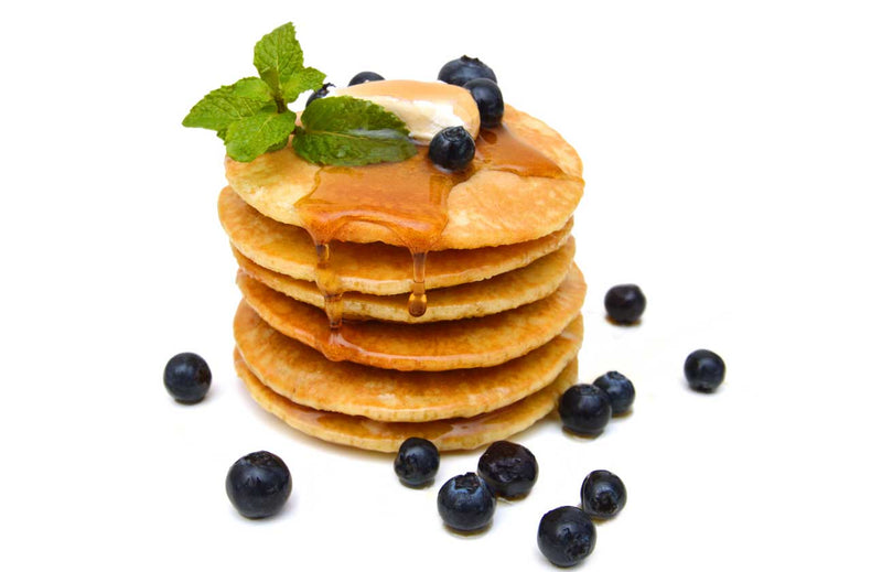 Oh Wow Pancakes (with a Cauliflower Twist) - Grain-Free, Gluten-Free, Low-Calorie