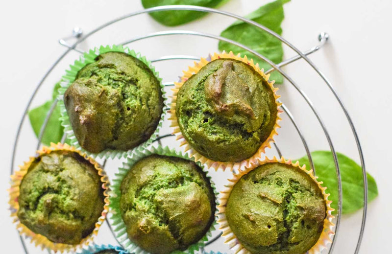 Power Veggie Muffins, Made from whole food powders