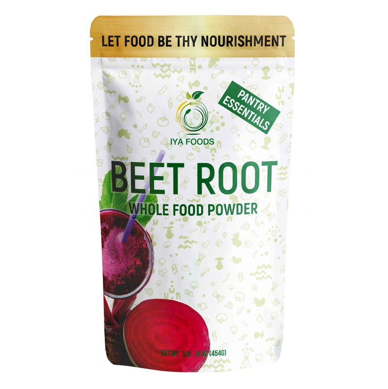 Beet Root Whole Food Powder 1LB, Real Ingredient - iyafoods