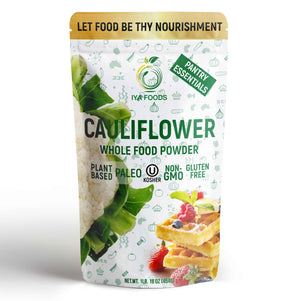 Cauliflower Whole Food Powder 1LB, Real Ingredient