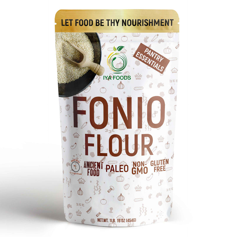 Fonio Flour 1-5 LB, Ancient Food, Real Ingredient