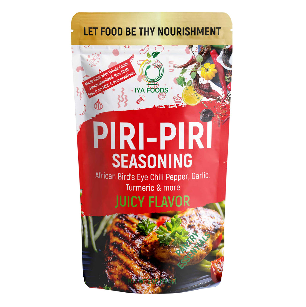 Piri Piri Seasoning 2-5 oz pack, No MSG, No Preservatives