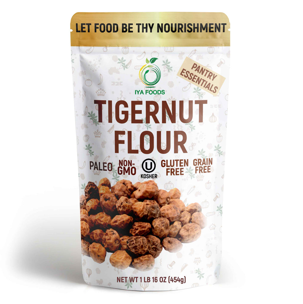 Tigernut Flour 1-5 Lbs, Grain Free, Real Ingredient