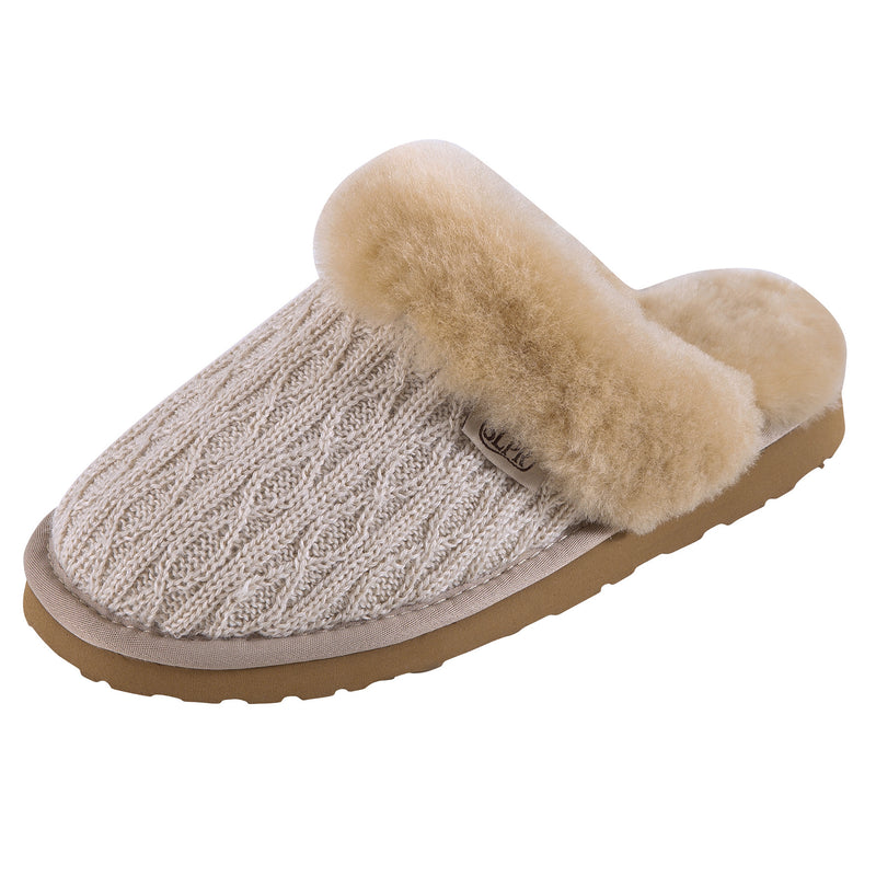 SLPR Women's Sheepskin Iceland Slipper