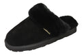 SLPR Women's Sheepskin Greenland Slippers Black