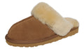 SLPR Women's Sheepskin Fernie Slipper Camel