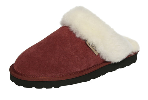 SLPR Women's Sheepskin Greenland Slipper Winterberry