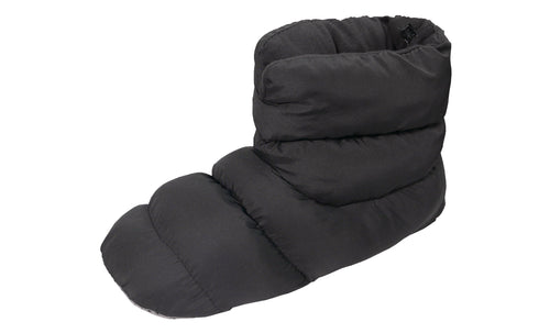 SLPR Unisex Warm Cozy Indoor Mid Bootie Slippers With Non-Slip Sole - Black