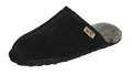 SLPR Men's Sheepskin Summit Slippers Black/Grey