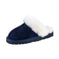 SLPR Women's Sheepskin Fernie Slipper Navy