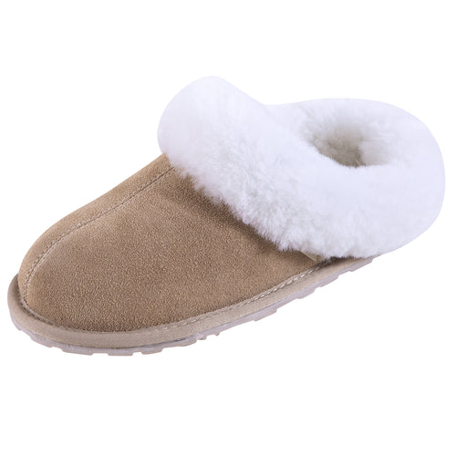 SLPR Women's Sheepskin Pinecrest Slippers Sand