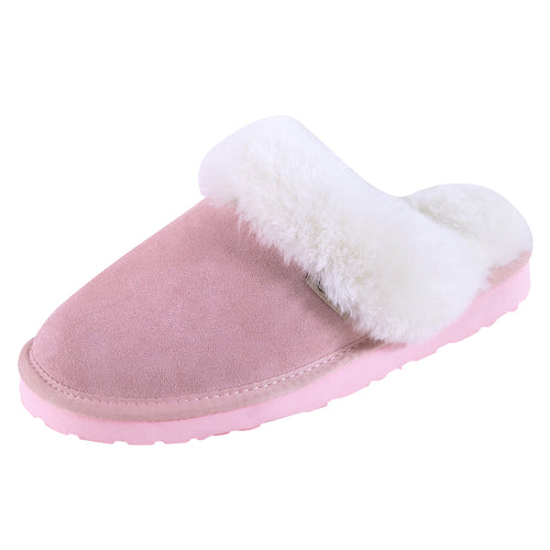 SLPR Women's Sheepskin Greenland Slipper Pink
