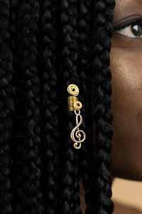 TREBLE CLEF HAIR JEWEL