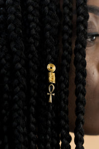 AFRICAN SYMBOLS HAIR JEWEL