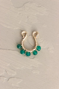 Thai Emerald Faux Septum
