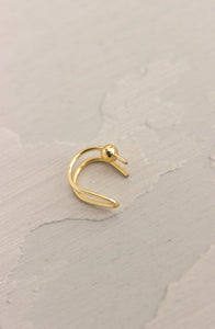 FAUX DOUBLE NOSTRIL RING