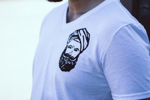 SINGH - MEN V-NECK TEE