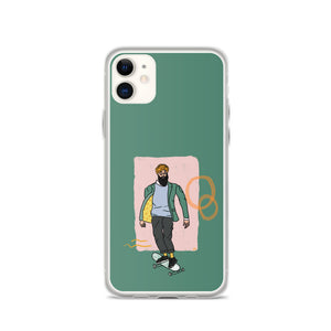 SKATER SINGH IPHONE CASE