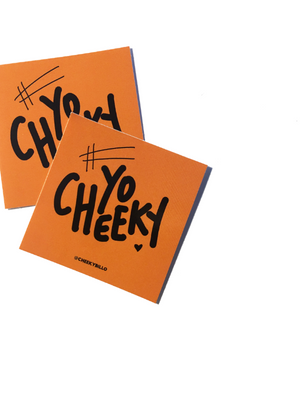 #YOCHEEKY STICKERS
