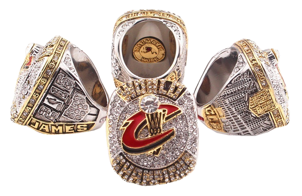 2016 CLEVELAND CAVALIERS BASKETBALL WORLD CHAMPIONSHIP RING