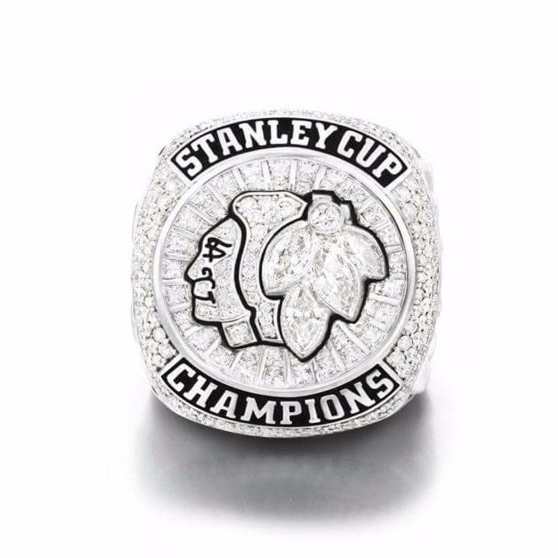 NHL 2015 Replica Ice Hockey Chicago Blackhawks Stanley Cup Championship Ring